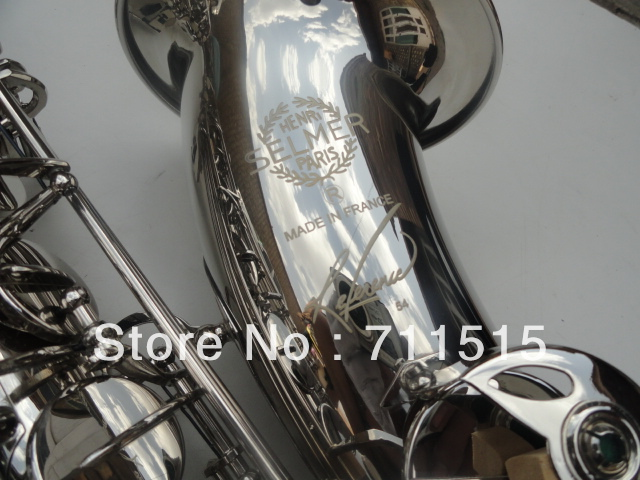 Professional Sax Instrumentos Musicais French Selmer Tenor Saxophone Henry Reference 54 Nickel Plating Saxophone french professional design water proof shockproof cozy soft lightweight bb tenor sax case backpack tenor sax bag for saxophone
