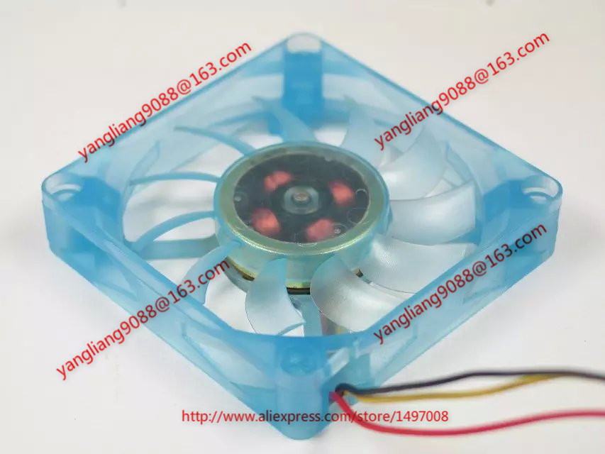 Emacro MW-715H12C DC 12V 0.40A 70x70x15mm Server Square fan