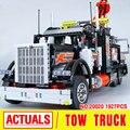 2017 Nueva LEPIN 20020 1877 Unids Technic Serie Neumático de Camión De Remolque Kits de Edificio Modelo Bloques Ladrillos de Regalo Con 8285