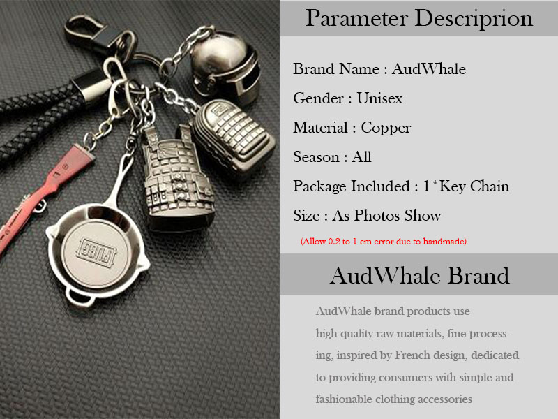Details about PUBG Copper Keychain Helmet And Guns 98K Game Fans Key Chains  Ring Glitter