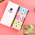 Hot Sale Women's brand casual cotton Boat socks women's Fashion striped socks high quality (with gift box)