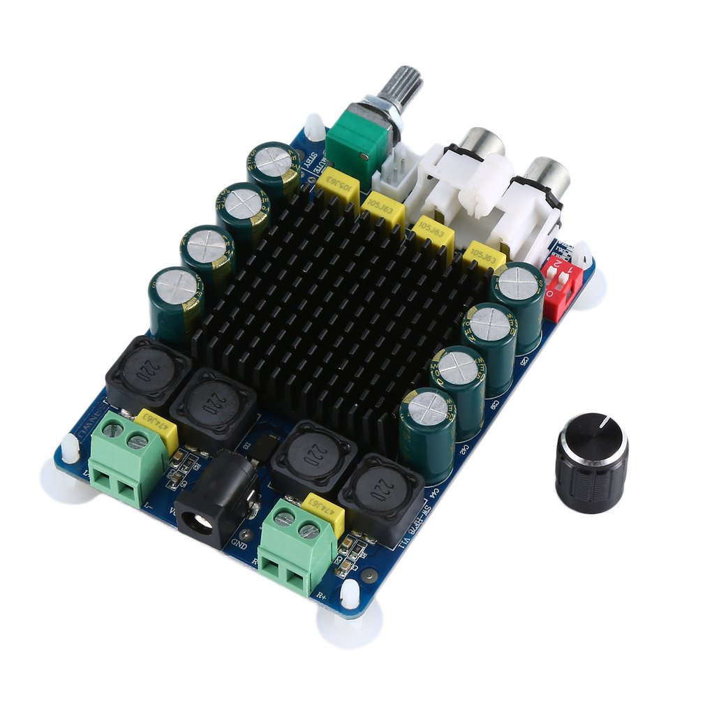 TDA7498 Power Amplifier Board High Power Digital Power Amplifier Board 2x100w Two Channel HF78 Durable
