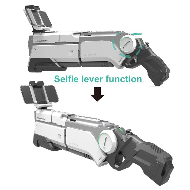 Pistolet AR pistolet pneumatique enfants jouets pistolet Airsoft armes Bluetooth support de téléphone portable multijoueur bataille télédétection jeu - 3