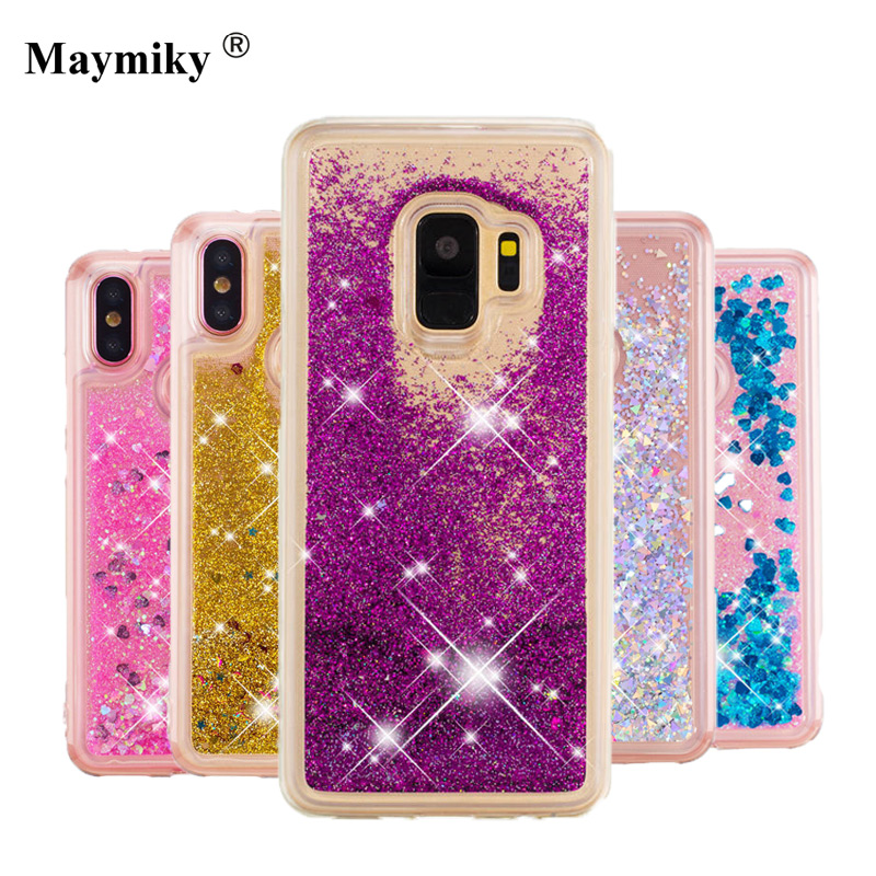 Phone Bags & Cases 2019 New Style For Samgsung Galaxy J1 2016 Case Transparent Tpu Cover Dynamic Liquid Glitter Sand 3d Stars Anti-knock J120 Case
