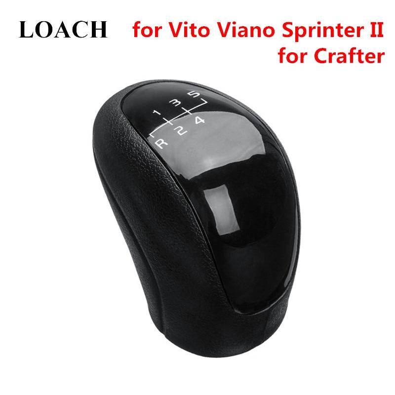 5 Speed Gear Stick Shift Knob Manual For Mercedes Benz Sprinter W639 VW 2E