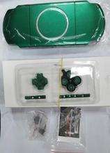 送料無料 6 色 psp 3000 PSP3000 フルハウジングシェルカバーケース交換ボタンキット