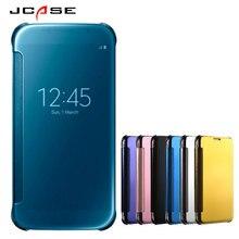 Luxury Fashion Mirror Flip Cover For Samsung Galaxy c9 Case Smart Cell Phone Cases for Samsung c9 Galaxy Fundas