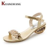 Women Shoes Sandals Comfort Sandals Women Summer Classic Rhinestone 2018 Fashion High Quality Sandals Bohemian