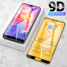 9D Full glue Tempered Glass For Huawei P30 lite p20 pro Protective Glas huawey p