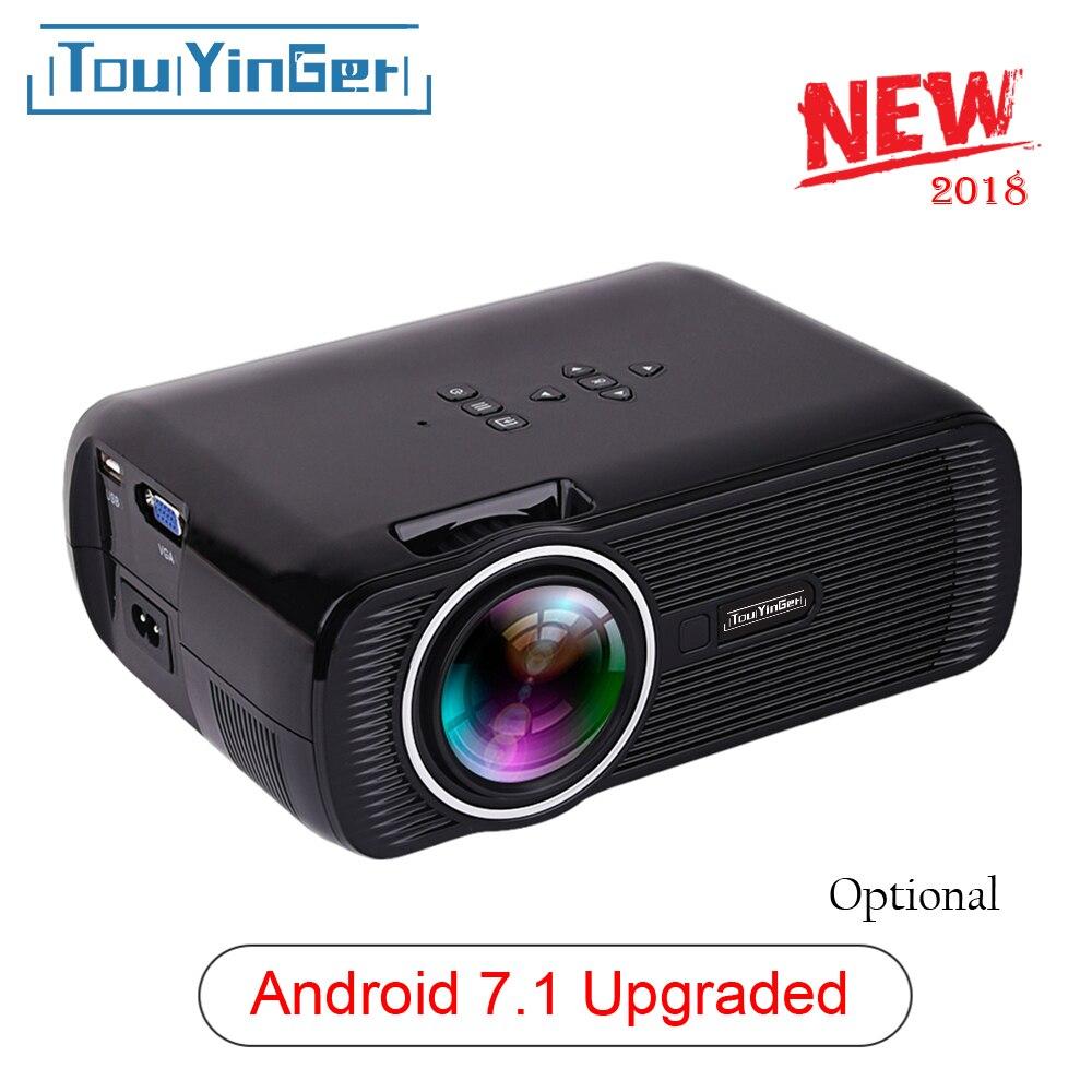 Everycom X7 USB Mini projetor android levou projetor full hd video home cinema portátil Pocket TV kodi teatro vidéoprojecteur 3D