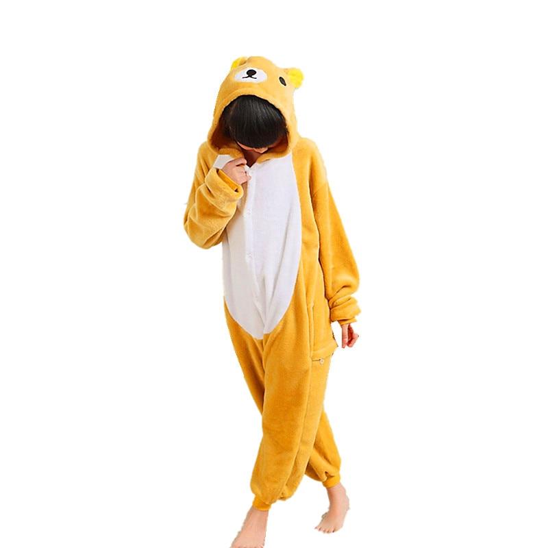 Rilakkuma Enfants Dessin Animé Kigurumi Cosplay Onesies Costume - Costumes