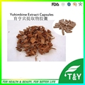 Male Fertility Yohimbine Hcl Extract Supplement Capsules 500mg*100pcs/Bag