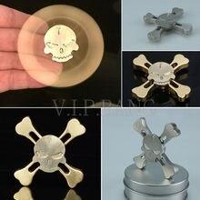กะโหลกล้อแม็กมือปั่นTriอยู่ไม่สุขโฟกัสของเล่นEDCนิ้วปั่นGyroสมาธิสั้นออทิสติกGyroของเล่นของขวัญ