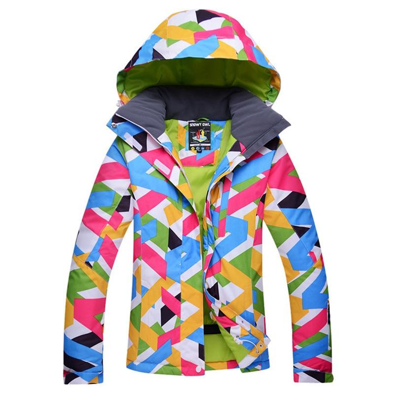 Dropshipping new Brand ski jacket waterproof windproof thermal font b coat b font 2018 hiking camping