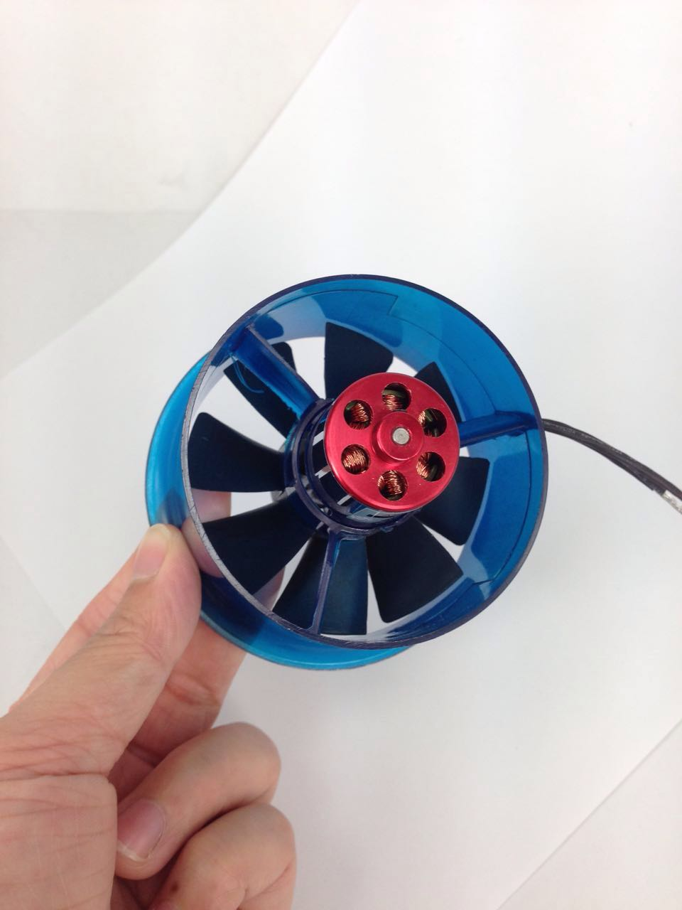 New HL6408 2830 4500KV Motor EDF 64mm Ducted Fan for RC Aircraft Airplane