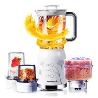 Joyoung Электрический Мульти мясорубки с 4 чашками 3 ножа соковыжималка для фруктов машина мини блендеры миксер машина для детского питания