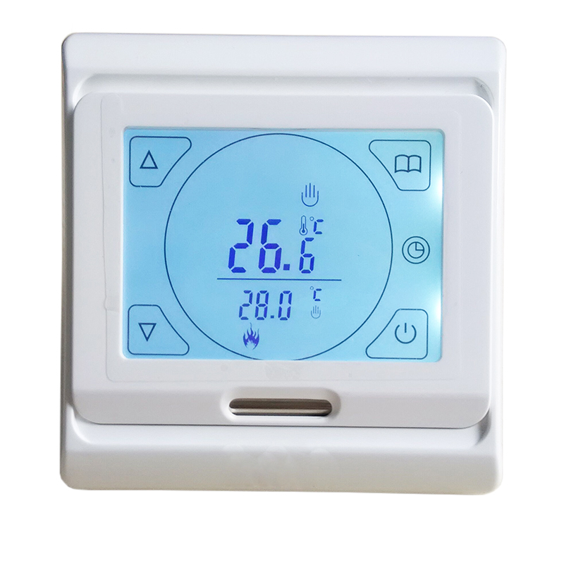 MINCO HEAT LCD Programmable Digital Room Floor Heating Thermostat Touch Screen Warming Floor Thermoregulator Temperature Sensor