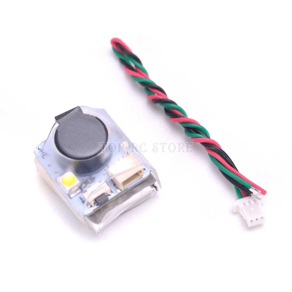 JHE42B-s 100DB 5 V Super Alto Buzzer Rastreador Localizador com LED Campainha de Alarme Para Corridas de Zangão FPV Controlador de Vôo
