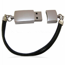 free shipping high-grade interface type leather usb 16gb leather metal usb flash drive