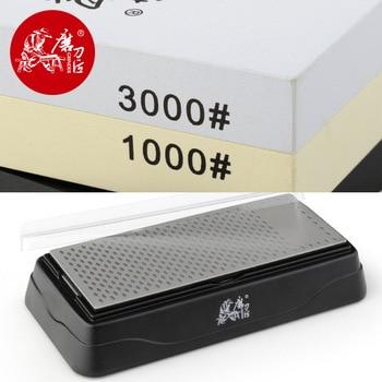 TAIDEA 1000/3000 Grit Whetstone &Diamond 360 600 Grit sharpening stone knife sharpener knife stone kitchen knife