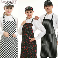 New design casual kitchen cooking apron sexy elegant summer style work japanese style apron new butcher apron AA001