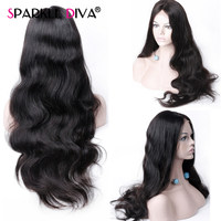 Peruvian Body Wave Lace Front Human Hair Wigs For Women 13*4 Lace Frontal Wig Pre Plucked With Baby Hair Remy Human Hair Wigs