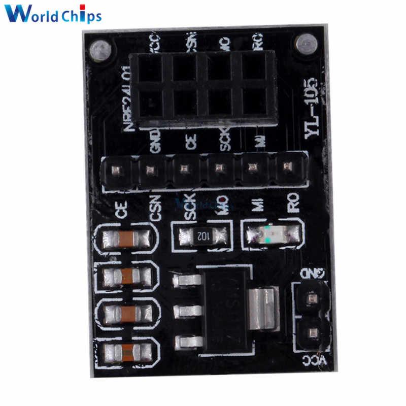 AMS1117 ソケットアダプタ 8Pin ため NRF24L01 無線トランシーバモジュール 51