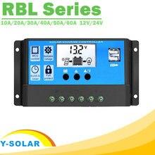 Y solar pwm 60a 50a 40a 30a 20a 10a Солнечный контроллер заряда