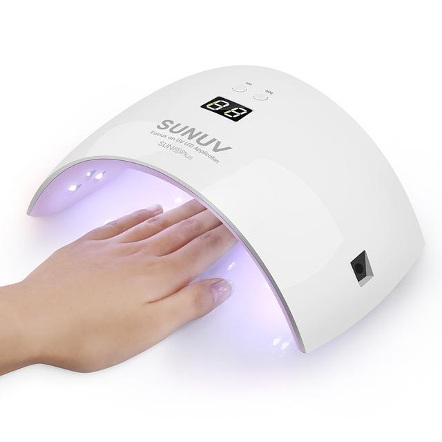 2017 SUNUV SUN9x Plus Nail Dryer for Gel Polish 36W UV Lamp for Nails LED Lamp Curing Light Nail Art Machine Tools 110V – 240V