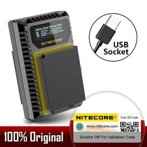 Nitecore FX1 Dual Slot USB Charger For Fujifilm NP-W126 NP-W126S Camera Battery X-Pro1 X-T1 XE1 XE2 XA1 XA2 XM1 HS30 X-T2 X-E2S(China)