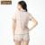 Qianxiu Verano Marca Pareja Pijamas de Las Mujeres Pijamas De Algodón de Manga Corta Pijama de Dormir de Las Señoras Salón Camisa y Pantalones Cortos