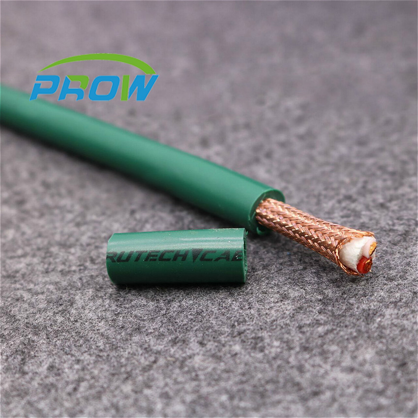 FURUTECH FA-220 PCOCC Audio signal cable Bulk Audio Wire OD9mm ID3mm Length:1meter OCC shielded wire HIFI Audio line PR tpi taperwire audio wire