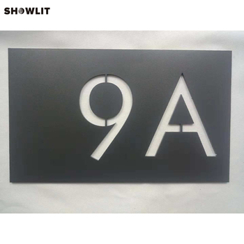 Company Customed Room Number Wall Plaques