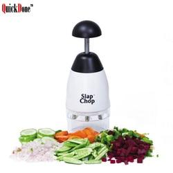 QuickDone Slap Chop Garlic Vegetable Fruit Chopping Grater Slicer Durable Slicer Crushing Shredder Kitchen Accessories AKC6184