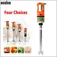 Batidora de alimentos manual comercial XEOLEO, mezcladora palillo eléctrico de 550 W, máquina agitadora de inmersión, máquina batidora multifunción