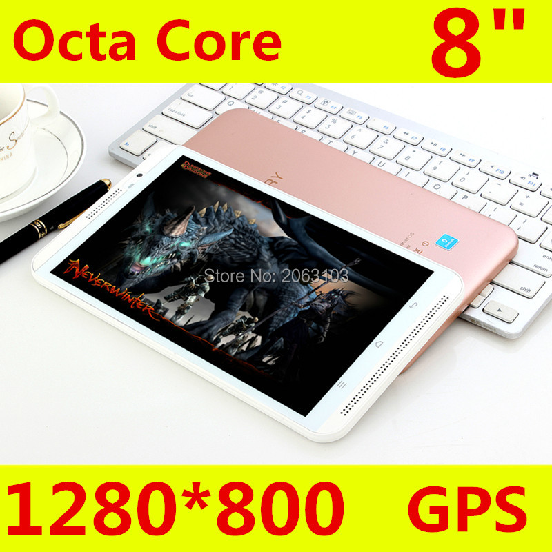 2019 nyeste M880 4G LTE Android 6.0 8 tommer tablet pc octa core 4GB - Tablet-computere