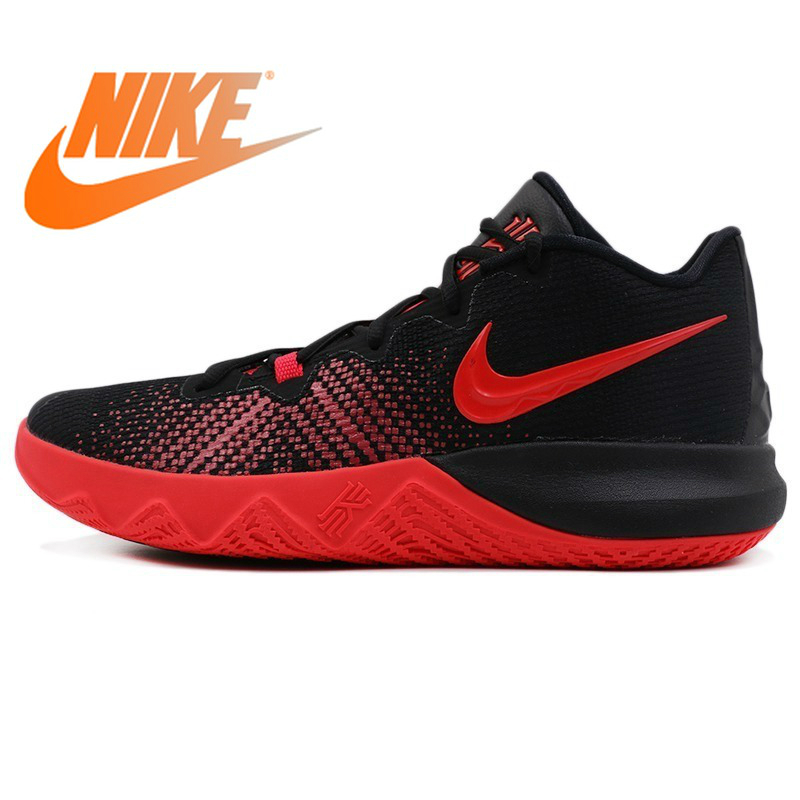 cf107181782 Original 2018 NIKE Men s Basketball Shoes Lace up Sneakers Wear resistant  Breathable Athletics Low cut Sports Shoes AJ1935-in Basketball Shoes from  Sports ...