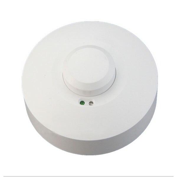 Livre 110 v-240 v 5.8 ghz Sistema HF Microondas LED motion Sensor de Radar de 360 Graus Interruptor da Luz de Teto corpo de luz motion Detector