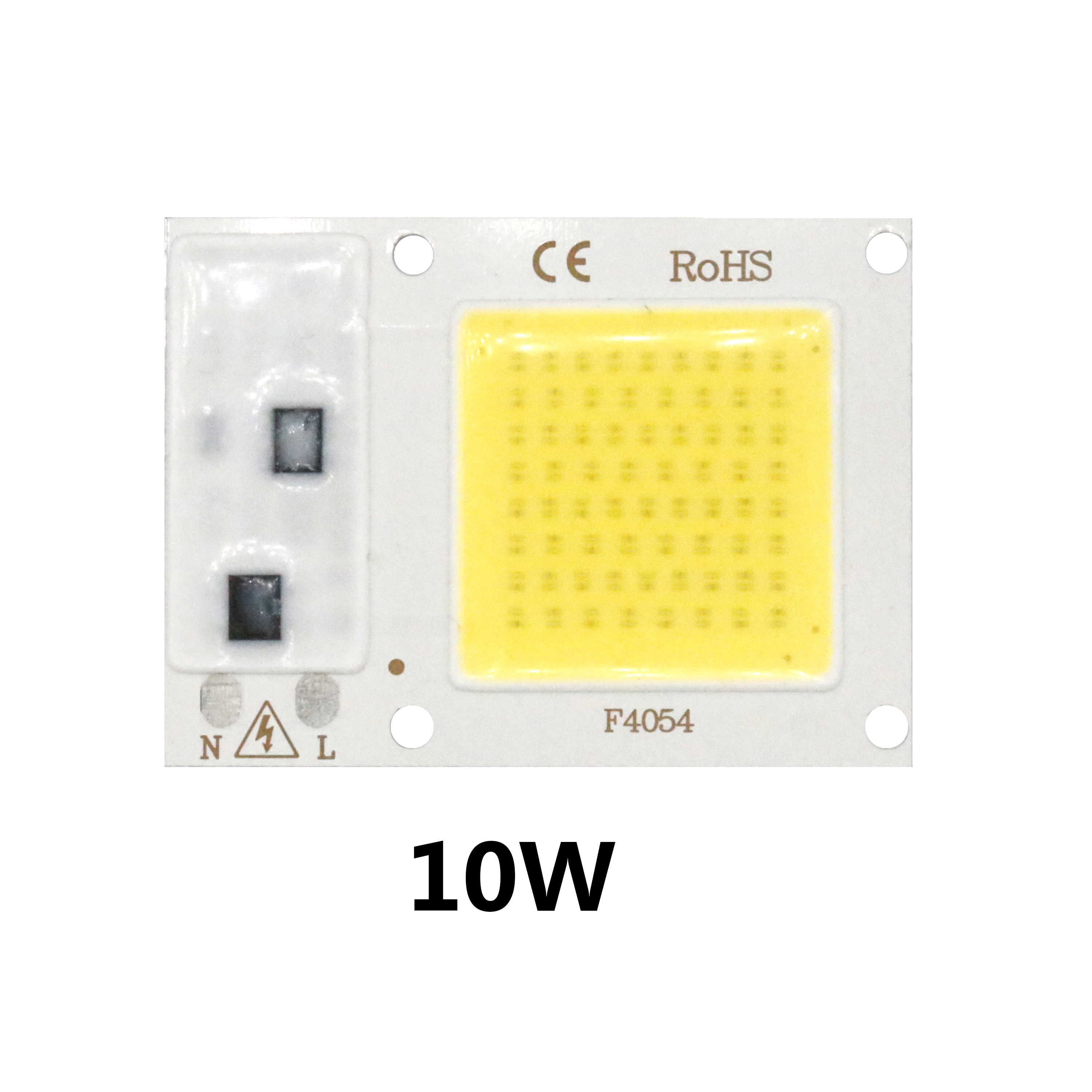 High Power 220V 5w 10w 20w 30w 50w LED Bulb COB Chip White High Lumen Lamp For Outdoor Indoor FloodLight For DIY LED