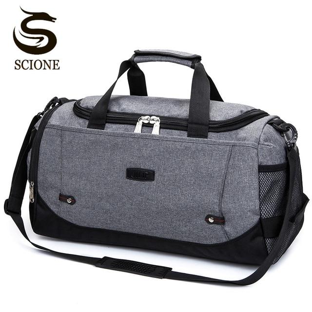 СКИОНЕ нейлон Многофункциональная дорожная сумка большой ёмкости Для мужчин/женщин ручной Чемодан путешествия