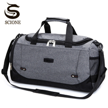 Scione Nylon Travel Bag Large Capacity Men Hand Luggage Travel Duffle Bags Nylon Weekend Bags Women Multifunctional Travel Bags high quality men travel bags large capacity women luggage travel duffle bags nylon outside waterproof bags bolso