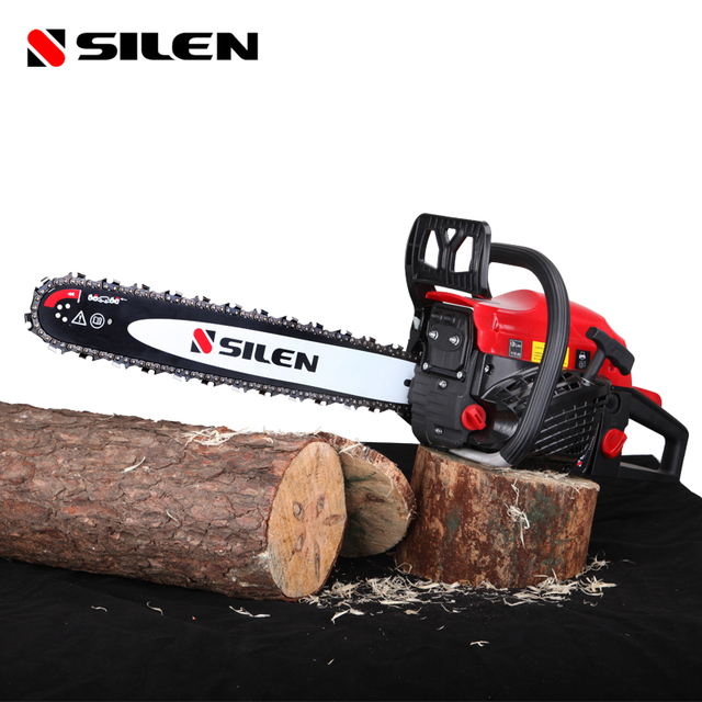 Free shipping Gasoline Chainsaw Saw Import   Easy Start The Chain  Tuba* 58