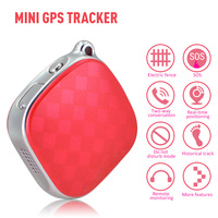 Mini GPS Trackers Locator For Kids Children Pets Cats Dogs Vehicle With Google Maps GSM GPRS