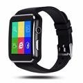 Grabador de vídeo bluetooth smartwatch para android teléfono con cámara de smart watch x6 reloj sport inteligente electrónica portátil