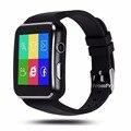 Gravador de vídeo bluetooth smart watch x6 smartwatch para android telefone com câmera relógio de pulso do esporte wearable eletrônica inteligente