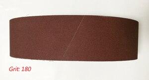 """Image 5 - Bande Abrasive pour bois, 100x915mm, 5 pièces, écran de ponçage 4 """"x 36"""" 100*915 avec ceinture 60 80 100 120 240 600"""