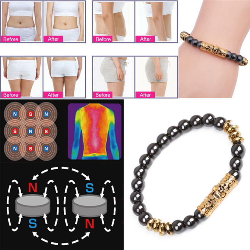 Weight Loss Magnetic Healthcare Bracelet Hand String font b Slimming b font Stimulating Acupoints Gallstone Bracelet