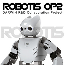 лучшая цена ROBOTIS OP2 Dynamic humanoid intelligent dual-core robot open source platform high-performance programming