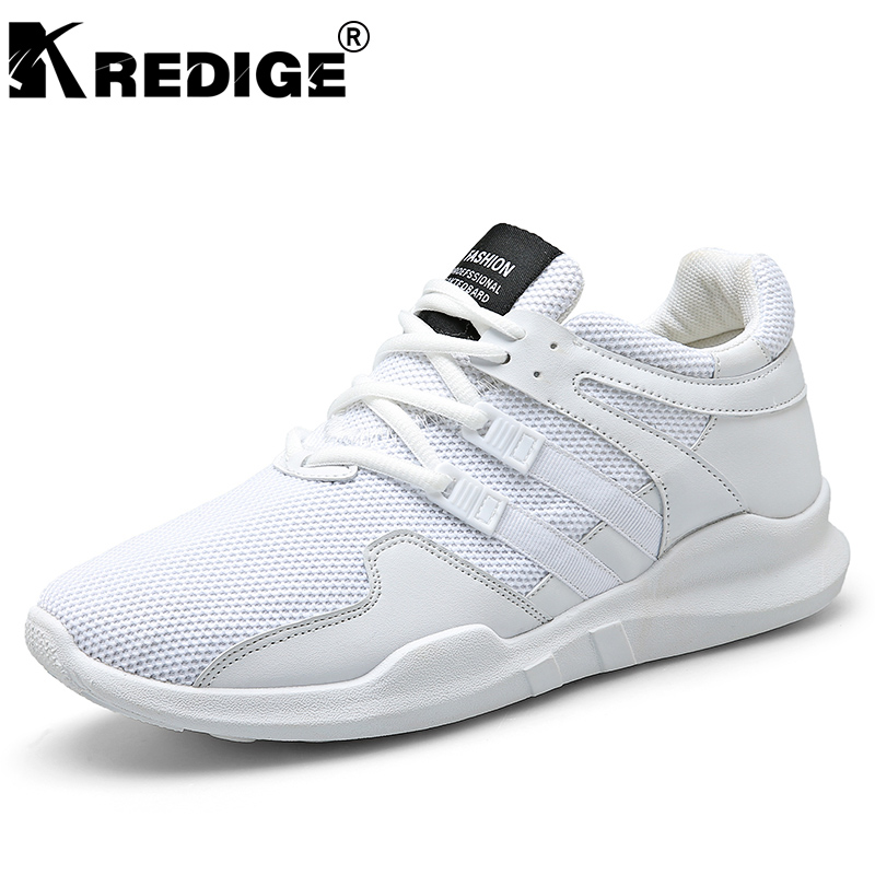 KREDIGE Breathable Air Mesh Casual Shoes Mens Hard-Wearing Soles Solid Shoes New Deodorant Personality Tide Male Shoes Big Size kredige anti odor zip tide leather shoes hard wearing mens casual shoes pu breathable waterproof plate shoes british style 39 44