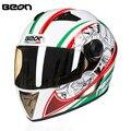New Arrival ECE Motorcycle Helmet Racing Full Face Helmet B5005 Moto Casque Casco motocicleta Capacete Kask helmets Chrome Visor